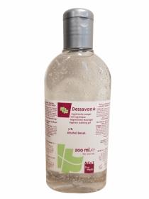 Dessavon+ (200ml), hygienisches Waschgel