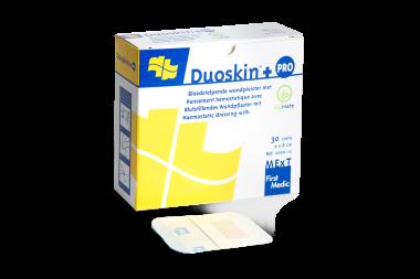 Duoskin+ PRO, blutstillendes Wundpflaster mit Alginat
