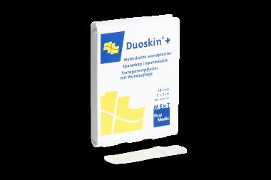 Duoskin+, transparentes Pflaster mit Wundauflage