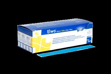 Elwo blau, elastisches und magnetisch nachweisbares Wundpflaster