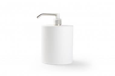 Nachfüllbare Spenderflasche weiß (900 ml)