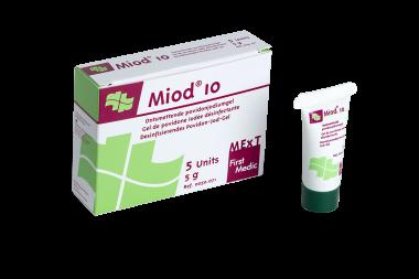 Miod 10, antiseptisches Povidon-Jod-Gel