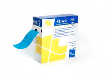 Relwo blau, elastisches und magnetisch nachweisbares Wundpflaster