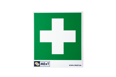 Vinyl-Signalaufkleber - Erste-Hilfe-Kreuz