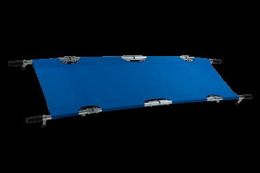 Krankentrage, 4x klappbar mit Handkoffer